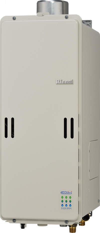 【最安値挑戦中!最大25倍】ガス給湯器 リンナイ RUF-SE1610AU 設置フリータイプ エコジョーズ ユッコUF 16号 フルオート PS上方排気型 15A [≦]