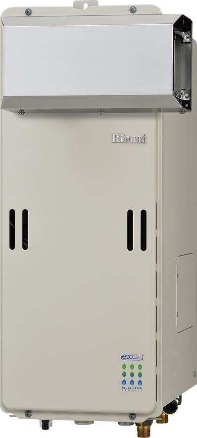 【最安値挑戦中!最大25倍】ガス給湯器 リンナイ RUF-SE1610SAA 設置フリータイプ エコジョーズ ユッコUF 16号 オート アルコーブ設置型 15A [≦]