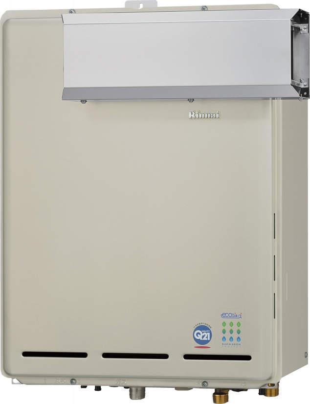 【最安値挑戦中!最大23倍】ガス給湯器 リンナイ RUF-TE1610AA 設置フリータイプ エコジョーズ ユッコUF カエッコ 16号 フルオート アルコーブ設置型 15A [≦]
