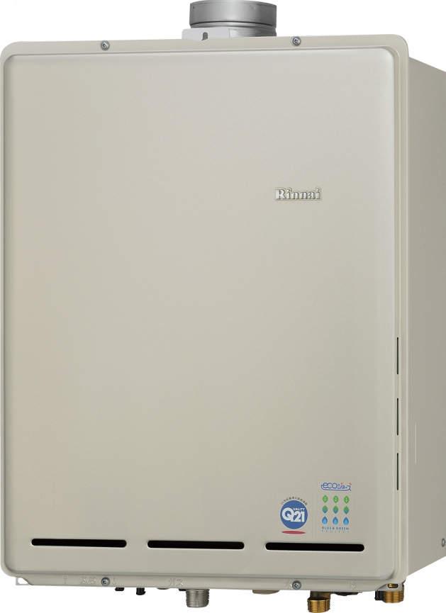 【最安値挑戦中!最大34倍】ガス給湯器 リンナイ RUF-TE2400SAU 設置フリータイプ エコジョーズ ユッコUF カエッコ 24号 オート PS上方排気型 20A [≦]
