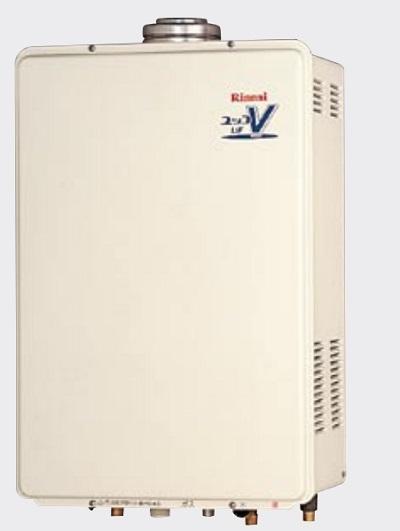 【最安値挑戦中!最大34倍】ガス給湯器 リンナイ RUF-V1615AFFD(B) 設置フリータイプ ユッコUF 16号 フルオート FF方式 屋内壁掛型 15A [∀■]