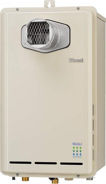 【最安値挑戦中!最大34倍】ガス給湯器 リンナイ RUX-E2403T 給湯専用タイプ ユッコ 24号 PS扉内設置形/PS前排気型 20A [≦]