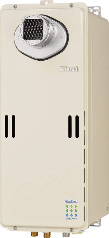 【最安値挑戦中!最大24倍】ガス給湯器 リンナイ RUX-SE1600T 給湯専用タイプ ユッコ 16号 PS扉内設置型/PS前排気型 20A [≦]