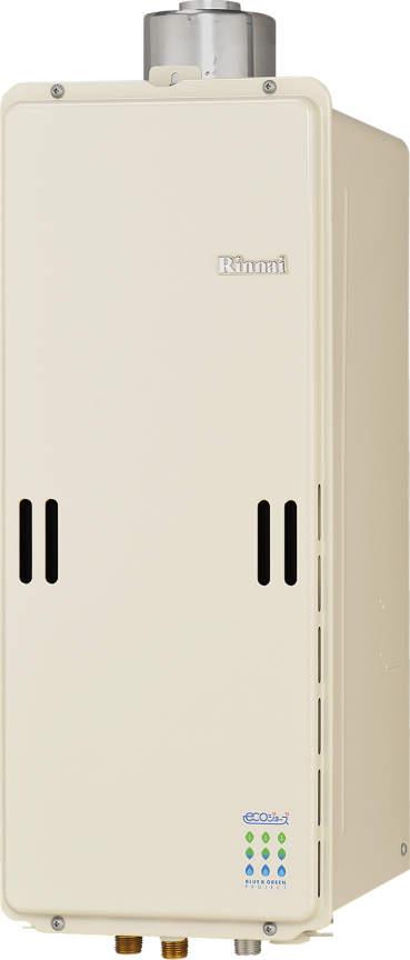 【最安値挑戦中!最大25倍】ガス給湯器 リンナイ RUX-SE1600U 給湯専用タイプ ユッコ 16号 PS上方排気型 20A [≦]