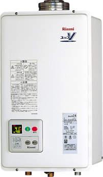 【最安値挑戦中!最大34倍】ガス給湯器 リンナイ RUX-V2405FFUA 給湯専用タイプ ユッコ 24号 FF方式 屋内壁掛型 20A [∀■]