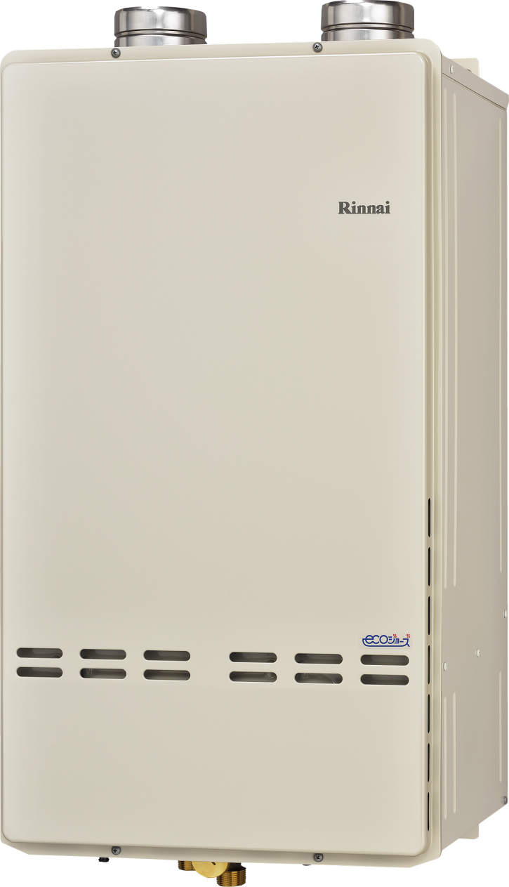 【最安値挑戦中!最大23倍】ガス給湯器 リンナイ RUXC-SE5000ZU 業務用タイプ エコジョーズ DECA-QV 50号 給湯専用 屋外壁掛型(排気延長式) 25A [■]