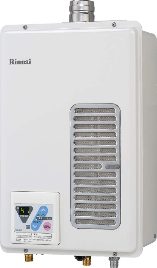 【最安値挑戦中!最大25倍】ガス給湯器 リンナイ RUXC-V1605SWF 業務用タイプ 16号 給湯専用 FE方式・屋内壁掛型 20A [■]