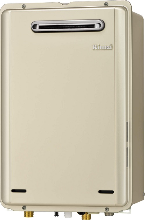 【最安値挑戦中!最大25倍】ガス給湯器 リンナイ RUX-E2406W 給湯専用タイプ ユッコ 24号 屋外壁掛型 20A [■]
