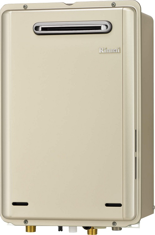 【最安値挑戦中!最大25倍】ガス給湯器 リンナイ RUX-E2006W 給湯専用タイプ ユッコ 20号 屋外壁掛型 20A [■]