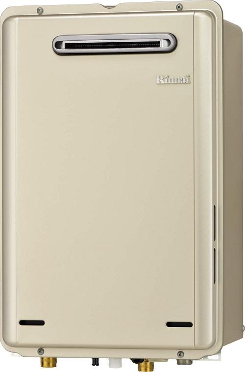 【最安値挑戦中!最大34倍】ガス給湯器 リンナイ RUX-E1606W 給湯専用タイプ ユッコ 16号 屋外壁掛型 20A [■]