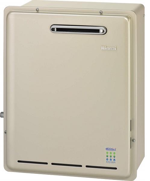 【最安値挑戦中!最大24倍】ガス給湯器 リンナイ RUX-E2016G 給湯専用タイプ エコジョーズ 20号 屋外据置型 15A [≦]