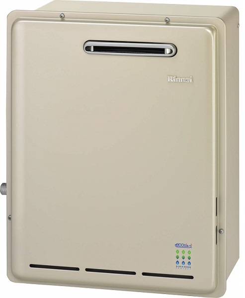 【最安値挑戦中!最大34倍】ガス給湯器 リンナイ RUX-E2006G 給湯専用タイプ エコジョーズ 20号 屋外据置型 20A [≦]