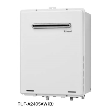 ガス給湯器 リンナイ RUF-A2405AW(B) 24号 フルオート 屋外壁掛・PS設置型設置型 給湯・給水20A [■]