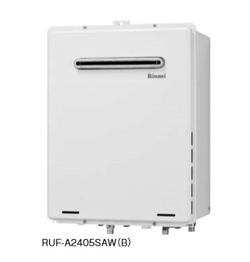 【最安値挑戦中!最大24倍】ガス給湯器 リンナイ RUF-A1605SAW(B) 16号 オート 屋外壁掛・PS設置型設置型 給湯・給水20A [≦]