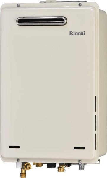 【最安値挑戦中!最大34倍】ガス給湯器 リンナイ RUJ-A1610W 高温水供給式タイプ 高温水供給式 ユッコハイフロー 16号 屋外壁掛 PS設置型 15A 浴室リモコン付 [■]