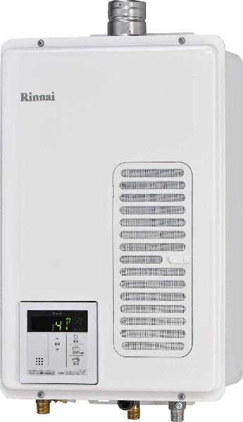 【最安値挑戦中!最大34倍】ガス給湯専用機 リンナイ RUX-V1605SWFA(A)-E 音声ナビ ユッコ 16号 FE方式 屋内壁掛型 20A リモコン別売 [■]