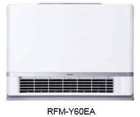 【最安値挑戦中!最大34倍】温水ルームヒーター リンナイ RFM-Y60EA 床置移動型(15畳~23畳) [■]