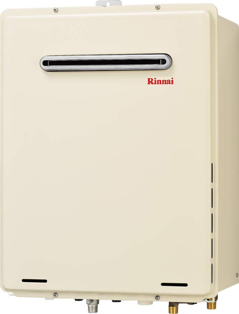 【最安値挑戦中!最大24倍】ガス給湯器 リンナイ RUF-A1615SAW(A) 16号 オート 屋外壁掛 PS設置型 15A [∀■]