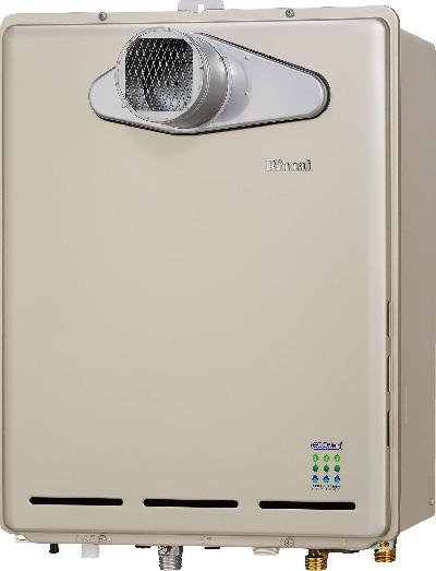 【最安値挑戦中!最大25倍】ガス給湯器 リンナイ RUF-E1605SAT(A) エコジョーズ ユッコUF 16号 オート (PS扉内/PS前排気型) 20A [≦]