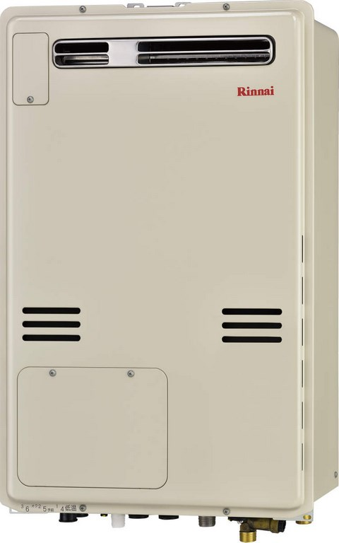 【最安値挑戦中!最大34倍】ガス給湯器リンナイ RUFH-A2400AW 24号 フルオート 屋外壁掛 PS設置型[∀■]