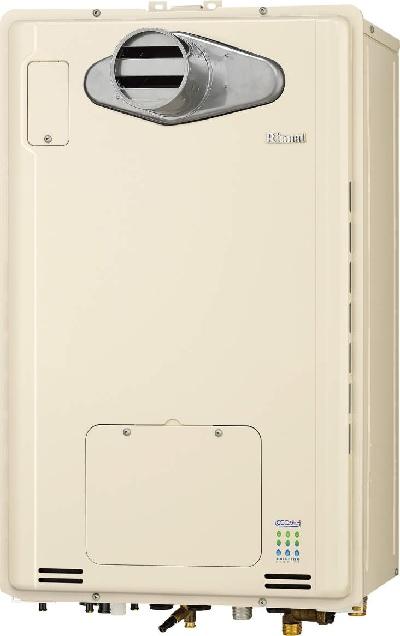 【最安値挑戦中!最大25倍】ガス給湯器 リンナイ RUFH-E1615AT2-3(A) 16号 フルオート PS扉内設置/PS前排気 [∀■]