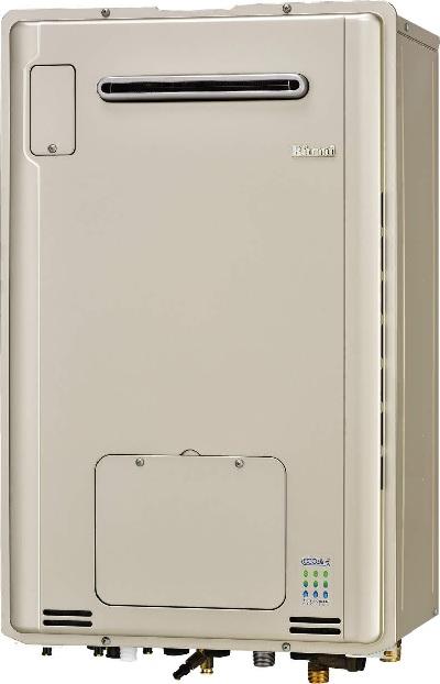 【最安値挑戦中!最大25倍】ガス給湯器 リンナイ RUFH-E2405SAW2-1(A) 24号 オート 屋外壁掛 受注生産[∀■§]