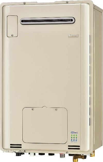 【最安値挑戦中!最大25倍】ガス給湯器 リンナイ RUFH-E2406SAW2-6 24号 オート 屋外壁掛 [∀■]
