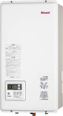 【最安値挑戦中!最大25倍】ガス給湯器 リンナイ RUX-V2015SFFBA-E 20号 FF方式 屋内壁掛方 後方給排気 [∀■]