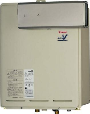 【最安値挑戦中!最大25倍】ガス給湯器 リンナイ RUX-V3201A 32号 アルコーブ設置型 [∀■]