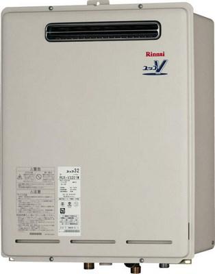 【最安値挑戦中!最大34倍】ガス給湯器 リンナイ RUX-V3201W 32号 屋外壁掛 PS設置型 ※受注生産[∀■§]