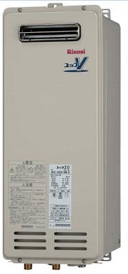 【最安値挑戦中!最大34倍】ガス給湯器 リンナイ RUX-VS2006W 20号 屋外壁掛 PS設置型 [∀■]