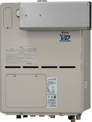 【最安値挑戦中!最大25倍】ガス給湯器 リンナイ RVD-A2400SAA2-1(A) 24号 オート アルコーブ設置型 [⇔]