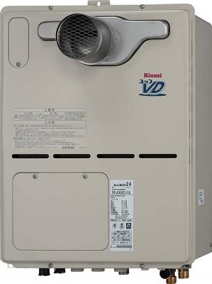 【最安値挑戦中!最大25倍】ガス給湯器 リンナイ RVD-A2400SAT2-3(A) 24号 オート PS扉内設置型 PS延長前排気型 [⇔]