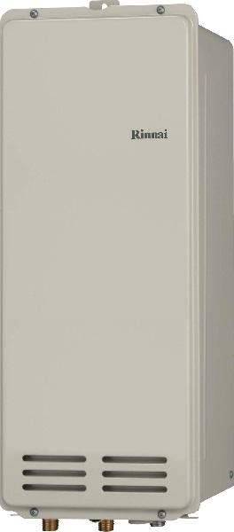 【最安値挑戦中!最大34倍】ガス給湯器リンナイ RUX-VS1616B(A) 音声ナビ ユッコ スリムタイプ 16号 PS扉内後方排気型 15A リモコン別売 [■]