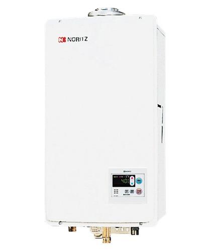 【最安値挑戦中!最大25倍】ガス給湯器 ノーリツ【GQ-1637WS-FFA】給湯専用 ユコアGQ-WS オートストップ 屋内壁掛 強制給排気形 16号 [♪◎]