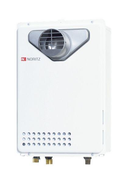 【最安値挑戦中!最大25倍】ガス給湯器 ノーリツ GQ-2039WS-T-1BL リモコン別売 給湯専用 ユコアGQ-WS-1 オートストップ PS扉内設置形(PS標準設置形)20号 [♪◎]