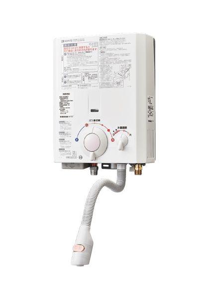 【最安値挑戦中!最大34倍】小型湯沸器 ノーリツ GQ-531MW 台所専用 5号屋内壁掛形 元止め式[◎♪【本州四国送料無料】]