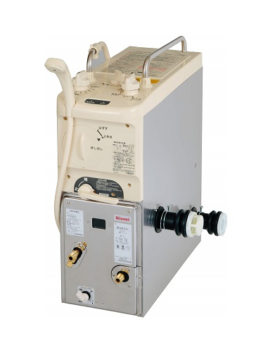 【最安値挑戦中!最大25倍】ガスふろがま リンナイ RBF-A3SK 寒冷地用 前面給水(FX) BF式 8.5号 ガス接続口ストレート(T) [≦]