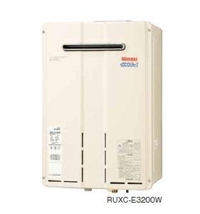 【最安値挑戦中!最大34倍】ガス給湯器 リンナイ RUXC-E3200W 業務用タイプ エコジョーズ 32号 給湯専用 屋外壁掛型 20A [■]