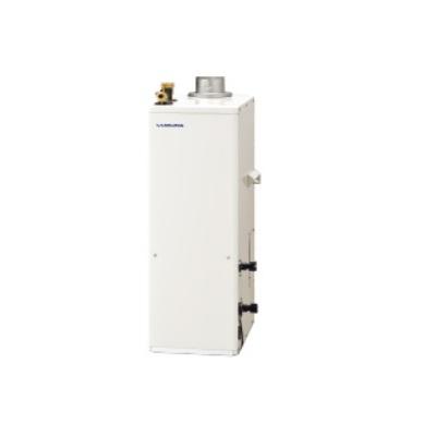 石油給湯器 コロナ UKB-SA471F(FP)+排気筒トップセット 据置型 屋内設置型 強制排気 インターホンリモコン付 [♪∀■]