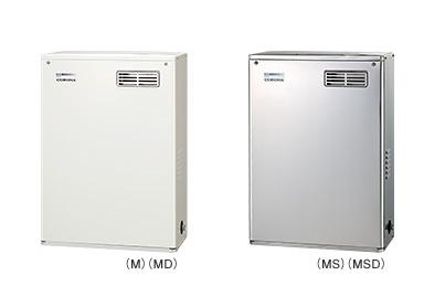 【最安値挑戦中!最大25倍】石油給湯器 コロナ UIB-NX37R(M) 屋外設置型 前面排気 シンプルリモコン付 [♪∀■]