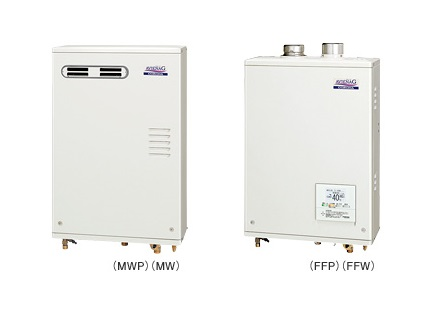 石油給湯器 コロナ UKB-AG470FMX(MW) 壁掛型 屋外設置型 前面排気 ボイスリモコン付 [♪∀■]