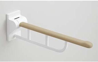 【最安値挑戦中!最大25倍】トイレ用手すり TOTO EWC731 はね上げ手すり 800mm [■]