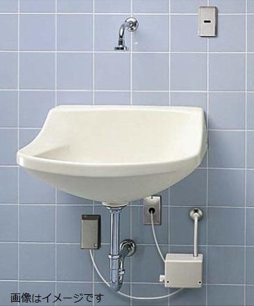 【最安値挑戦中!最大34倍】パブリック用流し TOTO L112 手術用壁掛手洗器 特定施設用器具 [♪■]
