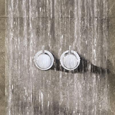 【最安値挑戦中!最大25倍】セラトレーディング VL052-60 Vola 温度調節ハンドル(バス用) ブラッククロム 受注生産品 [■§]