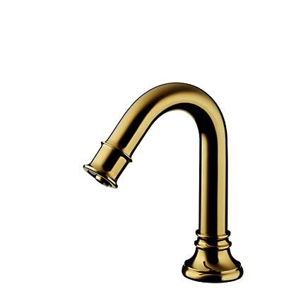 【最安値挑戦中!最大25倍】洗面ボウル(洗面器)・手洗器用水栓 セラトレーディング CET960RG セラオリジナル自動水栓(サーモ付) ゴールド [■]