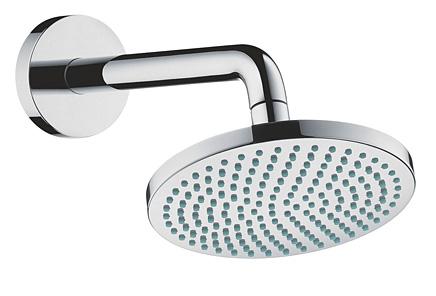 【最安値挑戦中!最大25倍】浴室水栓 セラトレーディング HG27450 壁付式オーバーヘッドシャワー Croma 160 [■]
