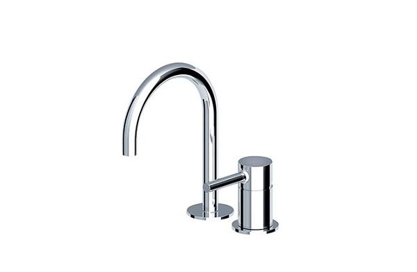 【最安値挑戦中!最大25倍】洗面ボウル(洗面器)・手洗器用水栓 セラトレーディング ZU6224S パン湯水混合栓 クロム [■]