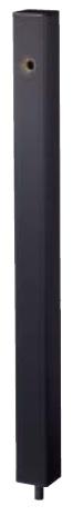 【最安値挑戦中!最大23倍】ナスタ KS-SC04P-BK 屋外水栓 水栓柱 ブラック [♪▲]
