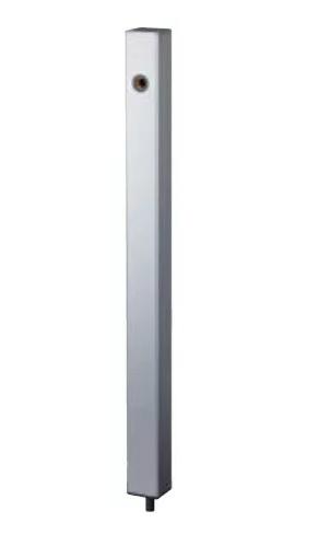 【最安値挑戦中!最大24倍】ナスタ KS-SC04P-SV 屋外水栓 水栓柱 シルバー [♪▲]